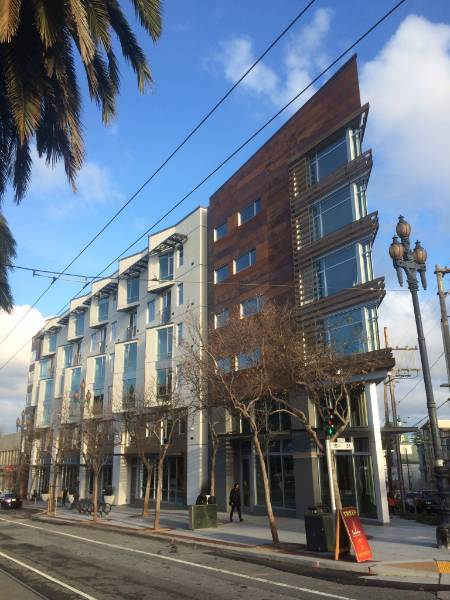 Accoya wood selected for Forest City's 2175 Market Street apartments