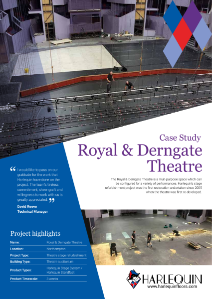 Case Study - Royal & Derngate Theatre