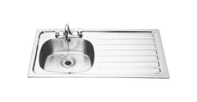 Inset domestic sink, ref B20085L/R