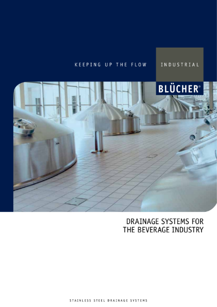 Drainage Systems for the Beverage Industry