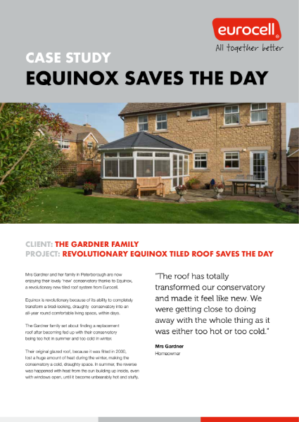 Gardner Family Equinox Case Study