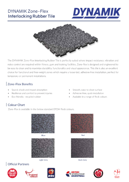 Zone-Flex - Interlocking Rubber Tiles