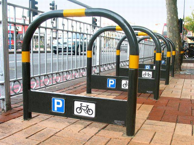 Transport Stainless Steel Cycle Stand