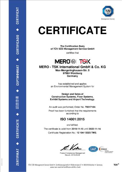 Mero-TSK ISO14001