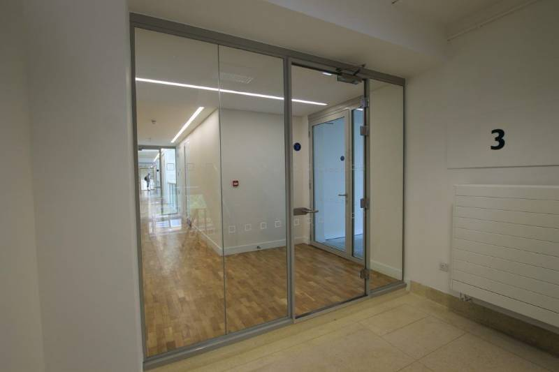 FireClear54 Double Glazed Partition System