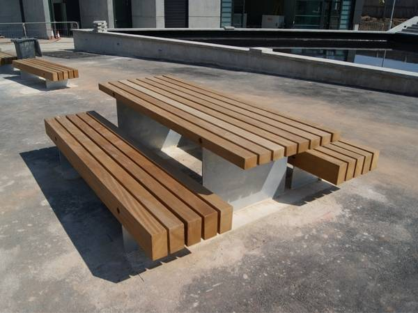 Fordham Picnic Benches and Table