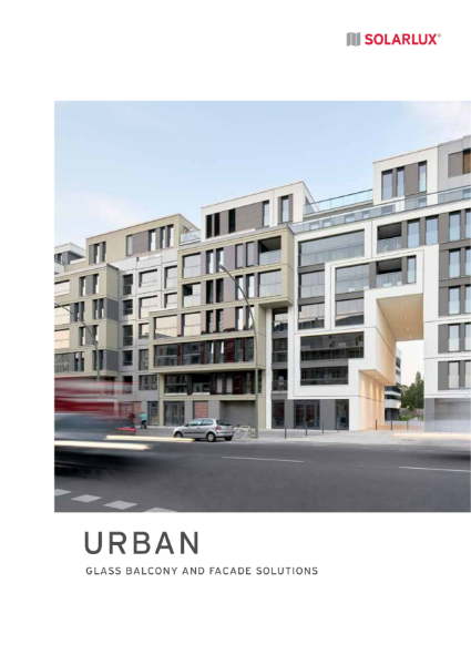 Solarlux Glass Balcony & Façade Solutions – URBAN - product brochure