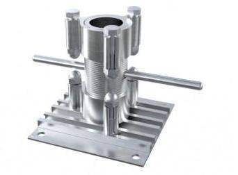 AliDeck Adjustable Pedestal