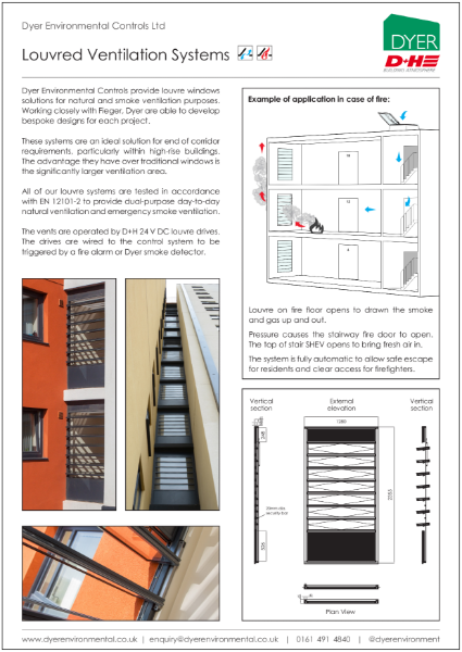 Louvred Ventilation Systems