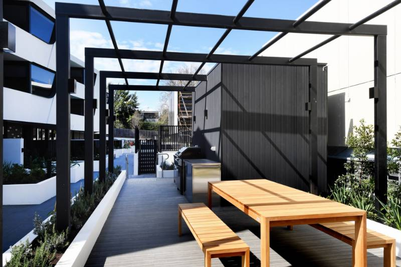 Accoya cladding for Cantala apartments in Melbourne