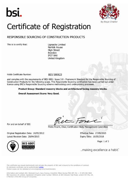 BES certificate
