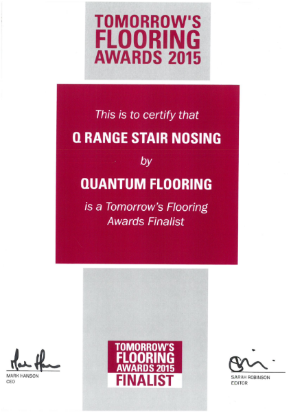 Tomorrows Flooring Award