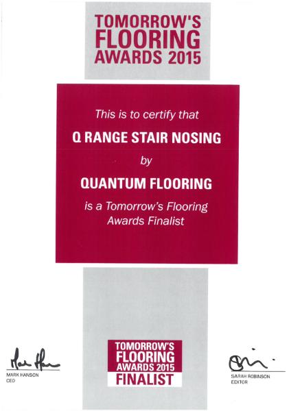 Tomorrows Flooring Award