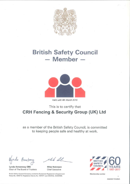 British Safety Council Membership