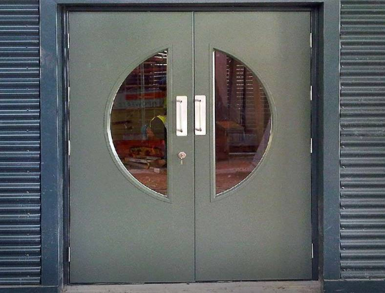 Steel Doors AD10 Armourdoor Fire Exit - Double