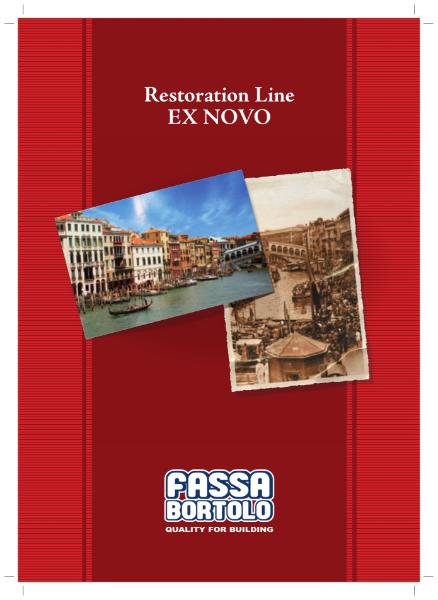 Fassa Bortolo's Ex-Novo Renovation Line