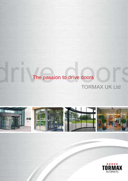 Automatic entrance doors - UK brochure with case studies