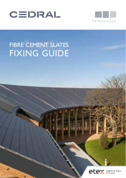 Cedral Roofs Fixing Guide