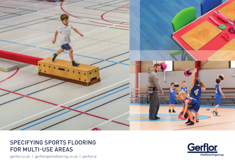 Specifying Sports Flooring for Multi-Use Areas Brochure