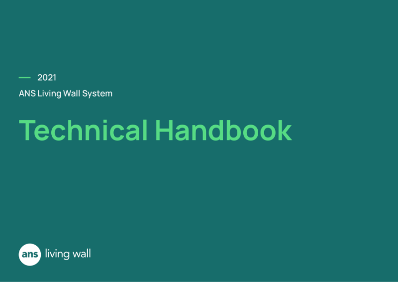 ANS Living Green Wall Technical Handbook