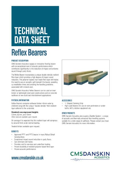 CMS Danskin Acoustics Reflex Bearers TDS