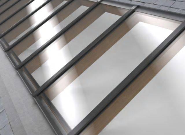 Rafterline Patent Glazing System