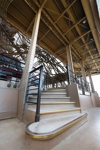 Stair Edgings - Eiffel Tower Case Study
