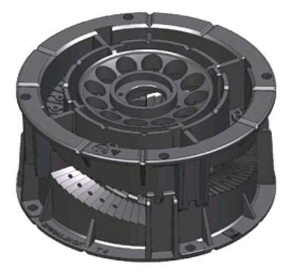 SpiraPave® Adjustable Pedestal Paver and Bearer Support