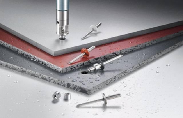 AP Rainscreen Facade Aluminium Rivets