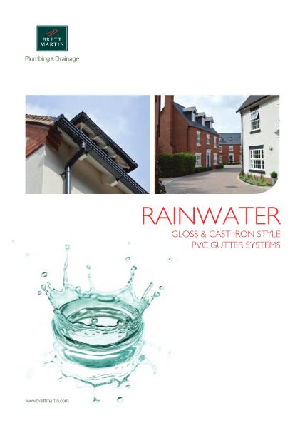 PVCu Rainwater Gutter Systems