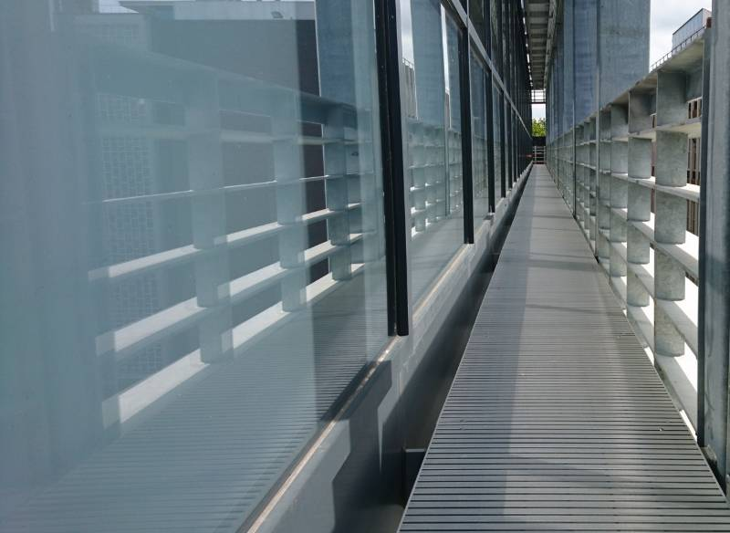 Neaco walkways specified for at award-winning science facility