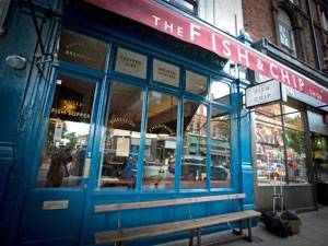 The Fish & Chip Shop, Islington, London