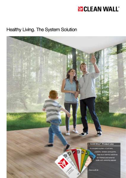 CLEAN WALL® Healthy Buildings Brochure