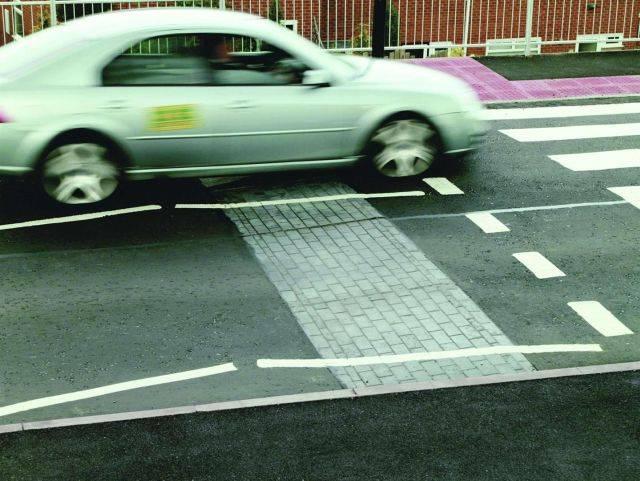 Planar Traffic Ramps