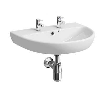 E100 Round 650 Washbasin