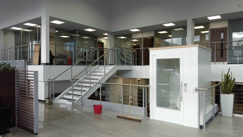 Premier Loft Ladders provide a safe, convenient and discrete solution for access to a premium car dealership plant room